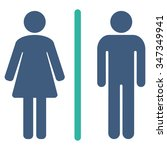toilets vector icon. style is... | Shutterstock .eps vector #347349941