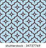 seamless symmetry background.... | Shutterstock .eps vector #34737769