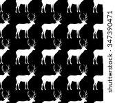 seamless black and white... | Shutterstock .eps vector #347390471