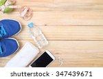 sports  fitness  recording ... | Shutterstock . vector #347439671