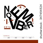 calendar | Shutterstock .eps vector #347454524