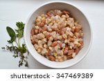 a bowl of samp and beans  a... | Shutterstock . vector #347469389