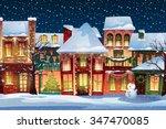 Winter Landscape.christmas...