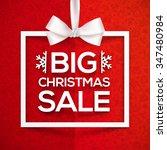 Big Christmas Sale White Vecto...