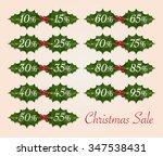 christmas sale on mistletoe...