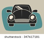 transportation concept with... | Shutterstock .eps vector #347617181