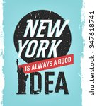 motivational quote design.... | Shutterstock .eps vector #347618741