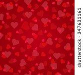 valentines day seamless...   Shutterstock .eps vector #347631161