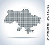 map of ukraine | Shutterstock .eps vector #347656781
