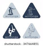 acroyoga | Shutterstock .eps vector #347664851