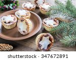 Mince Pies With Christmas Tree...