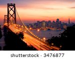 san francisco sunset   Shutterstock . vector #3476877
