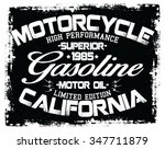 motorcycle superior vector... | Shutterstock .eps vector #347711879