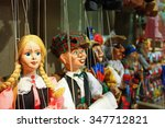 traditional puppets made of... | Shutterstock . vector #347712821