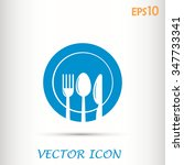 vector illustration sign with... | Shutterstock .eps vector #347733341