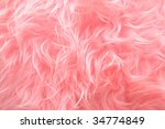Pink Shaggy Artificial Fur