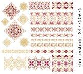 set of decorative elements | Shutterstock .eps vector #347750675