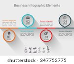 modern business  banner. vector ... | Shutterstock .eps vector #347752775