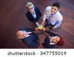 business people group... | Shutterstock . vector #347755019