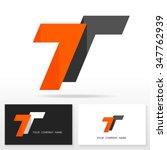 letter t logo design   vector... | Shutterstock .eps vector #347762939