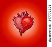 heart   Shutterstock .eps vector #347771321