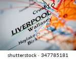 map photography  liverpool city ...   Shutterstock . vector #347785181