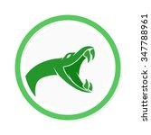 Vector Snake Logo Template. ...