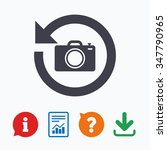 front photo camera sign icon....   Shutterstock . vector #347790965