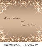 beautiful beige background with ... | Shutterstock .eps vector #347796749