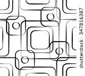 Stylish Geometric Texture With...