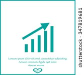 growth graph concept | Shutterstock .eps vector #347819681