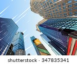 city hand drawn unique... | Shutterstock .eps vector #347835341