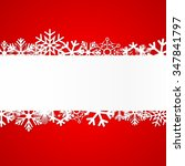 red christmas background with... | Shutterstock .eps vector #347841797