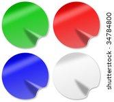 illustration of red  green ...   Shutterstock . vector #34784800