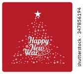 happy new year illustration... | Shutterstock .eps vector #347856194