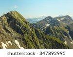 Green Mountain Ridge Scene