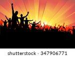 advertising banner for any... | Shutterstock .eps vector #347906771