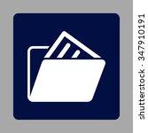file folder vector icon. style...   Shutterstock .eps vector #347910191