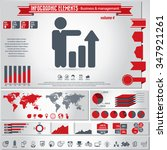 business icon set and... | Shutterstock .eps vector #347921261