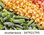 mixed vegetables background....   Shutterstock . vector #347921795