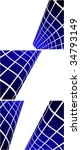 the blue vector abstract... | Shutterstock .eps vector #34793149