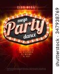 Mega Party Dance Poster...