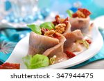 Appetizer Of Spicy Herring...