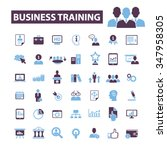 business training  webinar ... | Shutterstock .eps vector #347958305