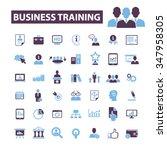 business training  webinar ... | Shutterstock .eps vector #347958305