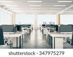 Open Space Office In Loft Styl...