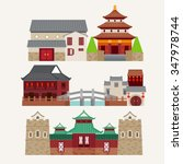 vector of chinatown    Shutterstock .eps vector #347978744