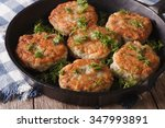 Delicious Fish Cakes With Dill...