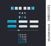 blue web interface navigation...