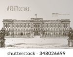 buckingham palace | Shutterstock .eps vector #348026699